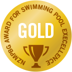 Executive Pools has received 6 gold awards for in the Pool Excellence awards for its award winning concrete pools