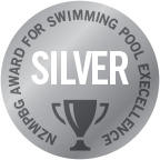 Executive Pools has received 3 silver awards for in the Pool Excellence awards for its award winning concrete pools